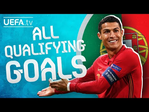 All PORTUGAL GOALS on their way to EURO 2020!