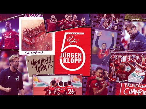 Five Years of Jürgen Klopp: 10 Defining Moments with the boss