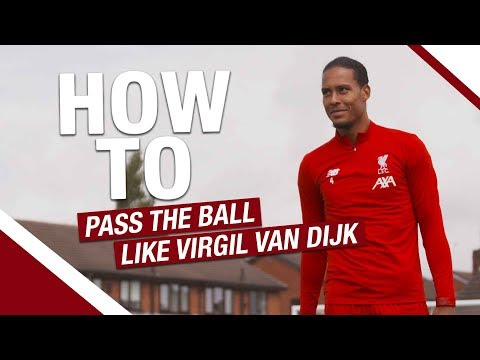 How to... pass the ball like Virgil van Dijk | Lessons from the LFC International Academy
