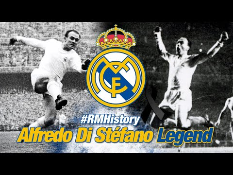 Alfredo Di Stéfano, Real Madrid legend and the greatest footballer of all time