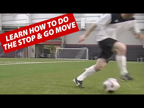 How To Do The Change Pace Stop and Go Soccer Football Move